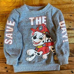 Paw Patrol Marshall Graphic Crewneck Sweater 2t